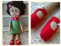 Boneca de pano Lola | Bunica Chica | Elo7