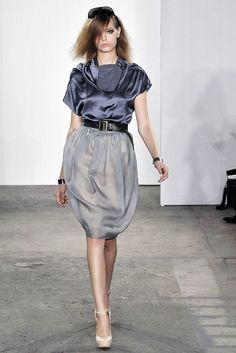 Costello Tagliapietra Spring 2009 Ready-to-Wear Fashion Show - Mina Cvetkovic