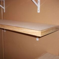 Properly built shelves are more than just wood attached to some brackets. In this set of free woodworking plans, learn how to build strong, sturdy shelving.