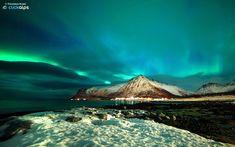 Aurora Borealis - 65 Awesome Winter Landscape Photos<3