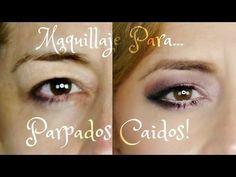 Maquillaje De Ojos Parpados Caidos   Paso A Paso (Profesional) GlamJackie - YouTube