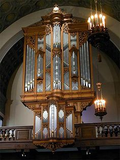 1985 Taylor & Boody organ at Holy Cross College, Worcester, Massachusetts    An instrument I got to play for an audition once.