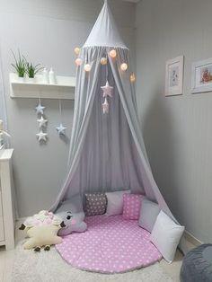Babymajawelt® Spielzelt für Mädchen. Von Babybett Baldachin bis zur Spielhöhle. Kissen+Spieldecke+Zelt finden Sie auf babymajawelt.de