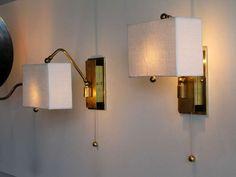 german swing arm wall lamps