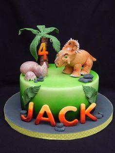 Walking With Dinosaurs - Cake by Elizabeth Miles Cake Design