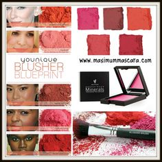 Younique's FABULOUS NEW Pressed Blushers - Same great colors, New compact design!!!   www.maximummascara.com   #younique #mascaraminxes #maximummascara