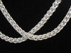 925 Silver Jens Pind Necklace Macro