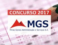 Concurso MGS - MG 2017