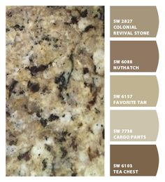 ColorSnap by Sherwin-Williams – ColorSnap by suhnne_ahn Kitchen Cupboard Colours, Kitchen Cabinet Color Schemes, Bathroom Color Schemes, Kitchen Paint Colors, Interior Paint Colors, Paint Colors For Home, Tuscan Kitchen Colors, Warm Kitchen Colors, House Colors