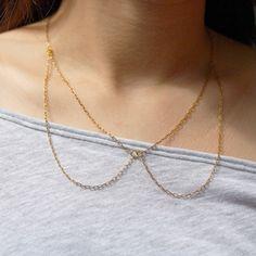 Peter Pan Collar Necklace. $10.00, via Etsy.