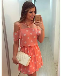 Too bad you can't see my outfit through the phone. Casual Dresses, Short Dresses, Casual Outfits, Fashion Dresses, Cute Outfits, Summer Dresses, Style Feminin, Mode Blog, The Dress