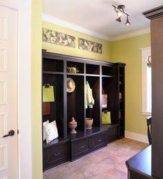Custom built home organization