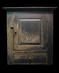 early wall cabinet