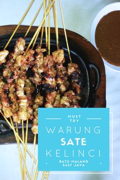 Warung Sate Kelinci di Batu salah satu kuliner yang wajib dicoba saat berkunjung ke daerah Batu di Malang (scheduled via http://www.tailwindapp.com?utm_source=pinterest&utm_medium=twpin&utm_content=post108972887&utm_campaign=scheduler_attribution)