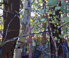 Rd 6N From the Woods in Spring (close up section 3) - Sharon Loeppky