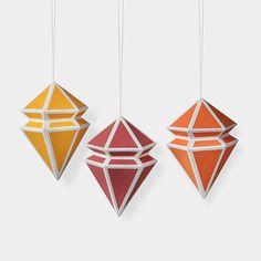 Geometric Paper Ornament Set | MoMA Store