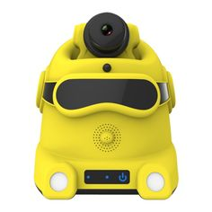 Mobile Surveillance Camera Robot for Baby Monitor & Elder Care Self Patrol with High Fidelity Speaker & Human Motion Detection #Affiliate