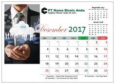 Desain Kalender Meja 2017 Tema Bisnis Free Download
