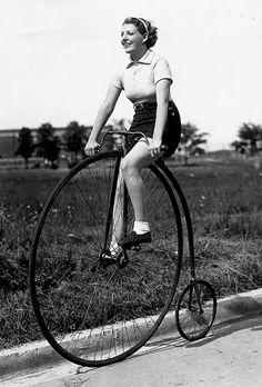 Pennyfarthing Bicycle  james/toronto archive 1930