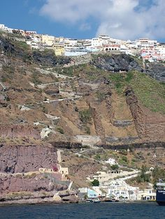 The 588 steps, Fira, Santorini, Greece by oooh mrs, via Flickr