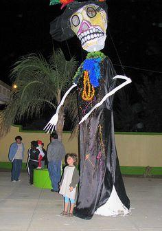 #catrina #gigante #oaxaca #diadelosmuertos
