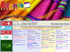 Our Riviera Maya Events Calendar is now easier to use! How to post events and see what's coming up