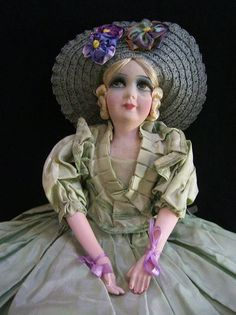 Darling French Bed Doll