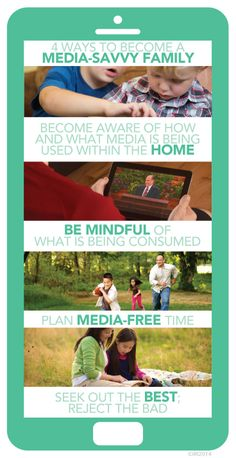 4 ways to become a media-savvy family.