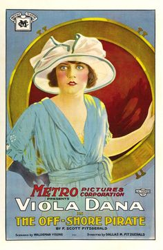 'The Off-Shore Pirate'~ Viola Dana 1921.