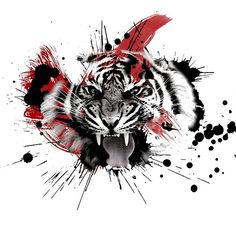 'Panther Roar' by dundar - Panther Roar - The Effective Pictures We Offer You About Ocean trash art A quality picture can tell you many th New Tattoos, Body Art Tattoos, Tattoos For Guys, Sleeve Tattoos, Cool Tattoos, Tatoos, Trash Polka Tattoos, Tattoo Trash, Tattoo Sketches