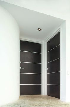 Dark doors, white trim | Doors | Pinterest | Dark doors, White trim ...