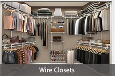 closet-walk in- easy wire design