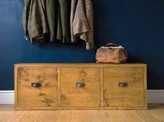 Image result for small hallway storage ideas