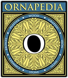 Ornapedia is an extensive library of images from the decorative arts industries. Its purpose is to demonstrate what defines good design and skillful execution in the ornamentation of a building or object.