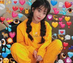 Soft G, Heart Meme, I Luv U, Wholesome Memes, Kpop Girls, Are You Happy, Dinosaur Stuffed Animal, Artist, Anime