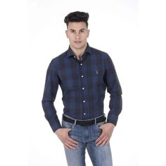 Versace 19.69 Abbigliamento Sportivo Srl Milano Italia Mens Classic Shirt 307 VAR. 121