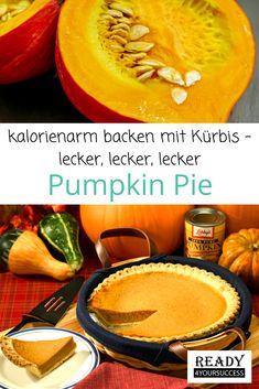 Backen mit Kürbis? Dieser Pumpkin Pie, zu Deutsch Kürbiskuchen, wird dich begeistern. Kürbisse sind extrem kalorienarm aber stecken voller wichtiger Nährstoffe, die uns vor allem über die kalte Jahreszeit vor Erkältungen bewahren können. Gerade zum Abnehmen sind sie sehr beliebt, sie halten lange satt und lassen den Blutzuckerspiegel nur langsam ansteigen, d.h. auch für Diabetiker bestens geeignet.  #Pumpkin Pie #Kuchen #gesund #kalorienarm #sättigend #abnehmen #Diabetiker Healthy Pumpkin Pies, Vegan Pumpkin Pie, Pumpkin Pie Recipes, A Pumpkin, Pumpkin Puree, No Bake Pumpkin Pie, Deliciously Ella, No Bake Cake, Appetizer Recipes