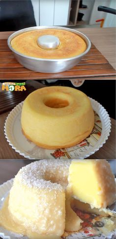 Cake Handle Mari - Bolos e Tortas Doces - Sweet Recipes, Cake Recipes, Portuguese Desserts, Good Food, Yummy Food, Love Eat, Food Cakes, Yummy Cakes, Bakery