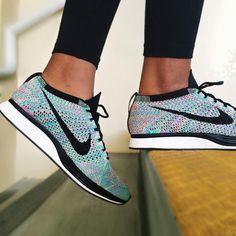Sneakers women - Nike Flyknit Racer Multicolor (©imsimplyb)