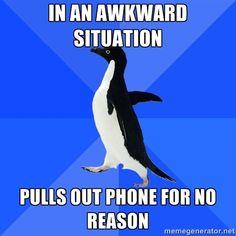 Awkward Situation...