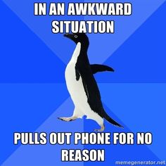 Awkward Situation...