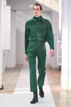Lemaire Herbst 2019 Ready-to-Wear-Kollektion - Vogue Source by amie_vintage 70s Fashion Men, Look Fashion, Trendy Fashion, Autumn Fashion, Fashion Outfits, Fashion Styles, Street Fashion, Trendy Clothing, Rare Clothing
