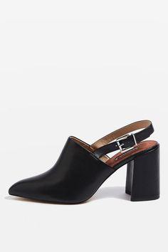 GROOVE Slingback Block Heels