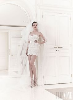 Zuhair Murad - Bridal - Spring-summer 2014 - Faun - http://en.flip-zone.com/fashion/bridal/couture/zuhair-murad-3952