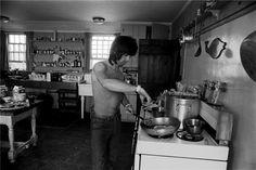 Keith Richards cucina