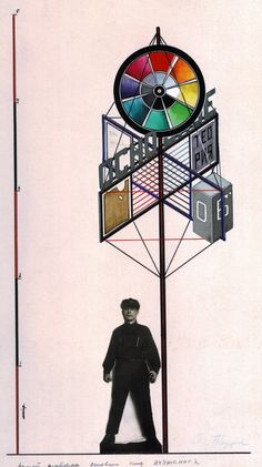 Gustav Klutsis and his project for the Higher State Art and Technical workshop exhibition stand 1924-1926.