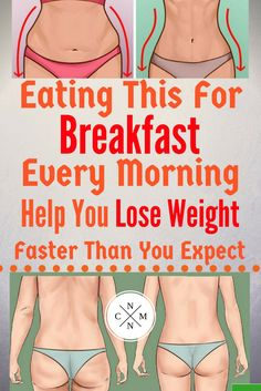 EATING THIS FOR BREAKFAST EVERY MORNING HELP YOU LOSE WEIGHT FASTER THAN YOU EXPECT!!~