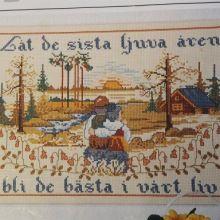 Gallery.ru / Лена Ленацилих Bastilla, Vintage World Maps, Cross Stitch, Baseball Cards, Gallery, Vegan, Kitchen, Punto De Cruz, Dots