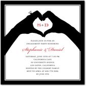 Engagement party invitation--LOVE THIS ONE!