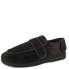 Edison Panda- For The Perfect Paw - Men's Slippers - Traditional mens slipper with a velcro strap $39.95 www.ishoes.com.au #ishoes #panda #slippers